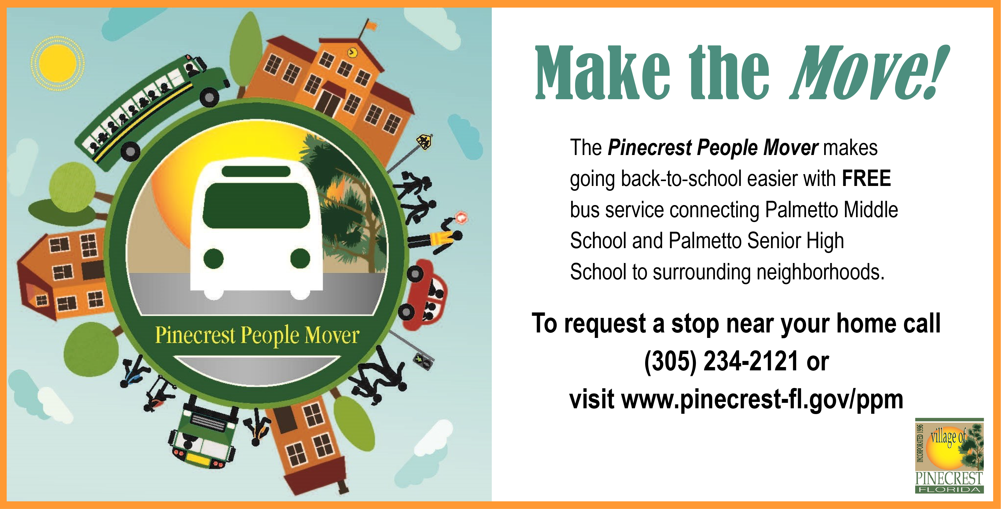 Pinecrest People Mover Flyer