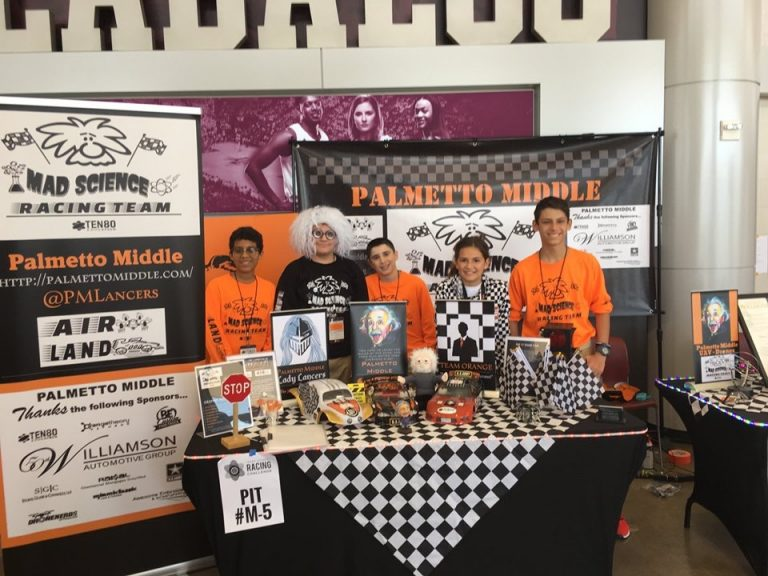 Palmetto Middle Mad Science Racing Team