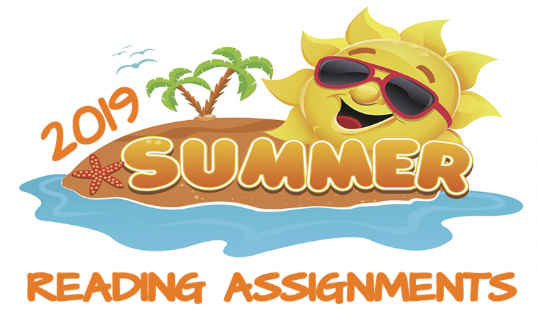 Summer READING assignments 2019